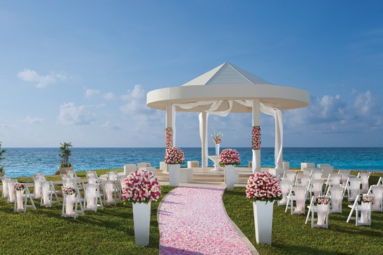 All Inclusive Dreams Cancun Wedding